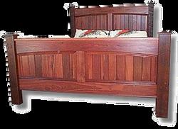 Jarrah Araluen Bed Front Angle
