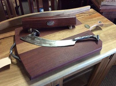 Pizza Knife and Board 1.JPG