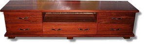 The South Beach Jarrah TV cabinet3