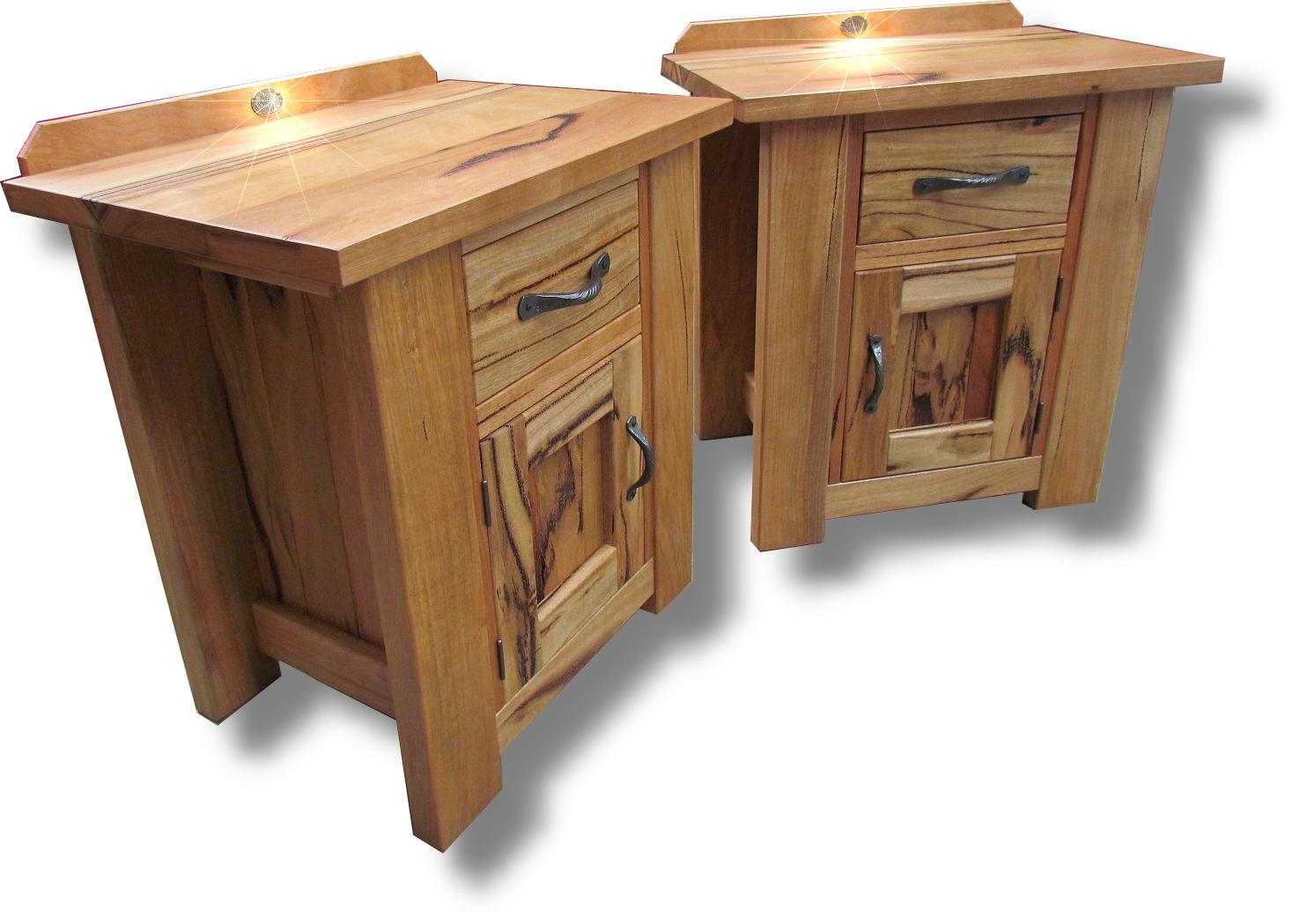 Marri door drawer bedsides 2