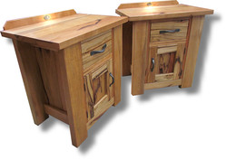 Marri door drawer bedsides 2