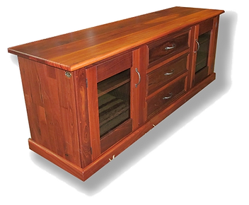 Jarrah TV cabinet