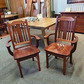 Jarrah Carver Chairs