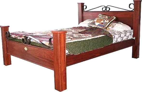 Ironcap Jarrah Bed
