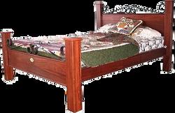 Ironcap Jarrah Bed