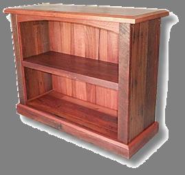 Compact Jarrah Bookcase2