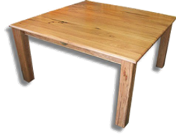 Marri Square Dining Table top view