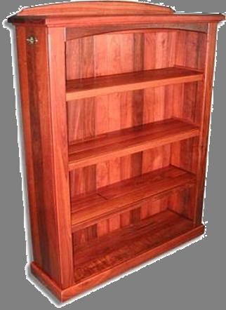 Compact Jarrah Bookcase