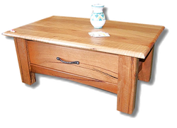 Marri Coffee table with 1 Drawer