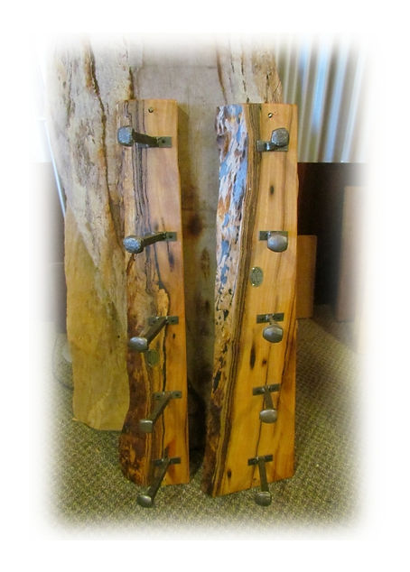 Marri Natural edge Coat hooks