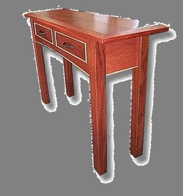 Jarrah Hall Table with Marri trim