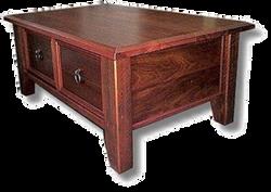 2 Drawer Jarrah Coffee Table