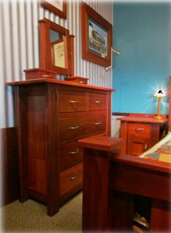 """""""Geographe"""" Jarrah Bedroom Drawers"""