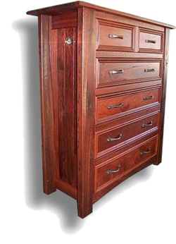 6 Drawer Geographe Chest Jarrah