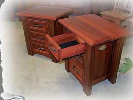 'Geographe'_Jarrah_bedside_tables_open