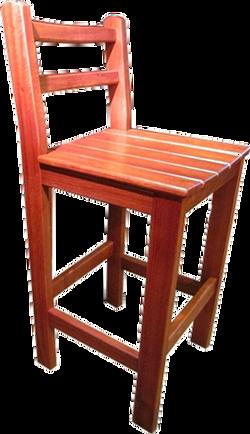 The Heff Jarrah Bar stool