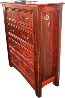 5 Drawer Geographe Chest Jarrah