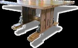 The Seacliffe ~ Square Marri pedestal table