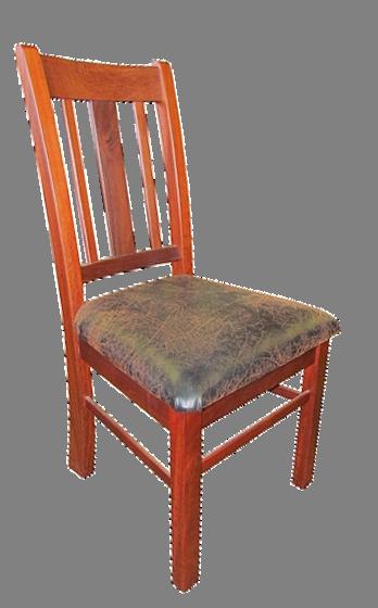 The 'Brookwood' Jarrah chair