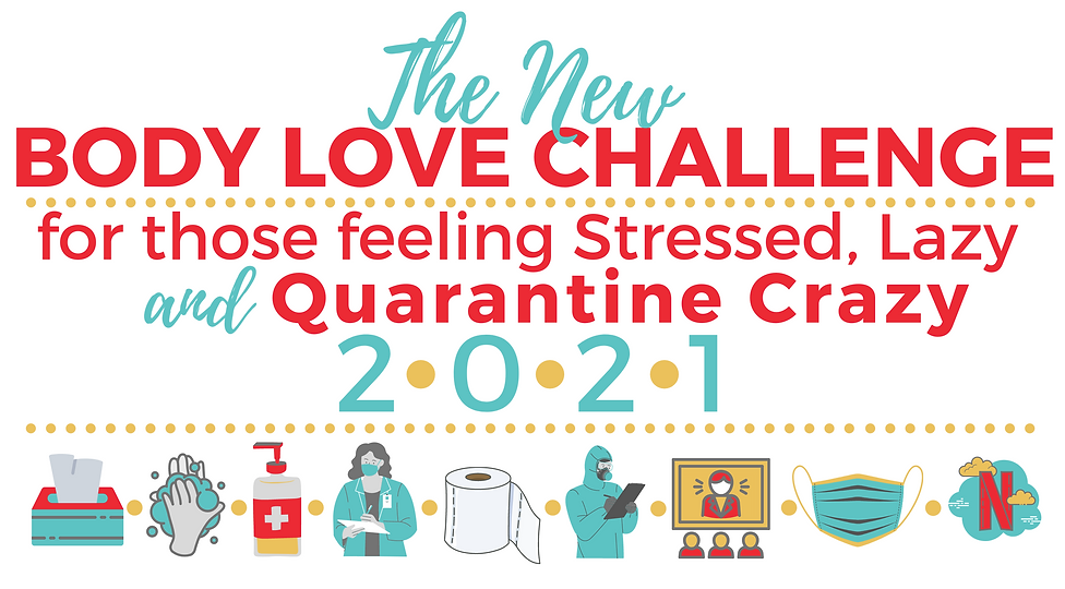 LOGO - The NEW Body Love Challenge 2021.