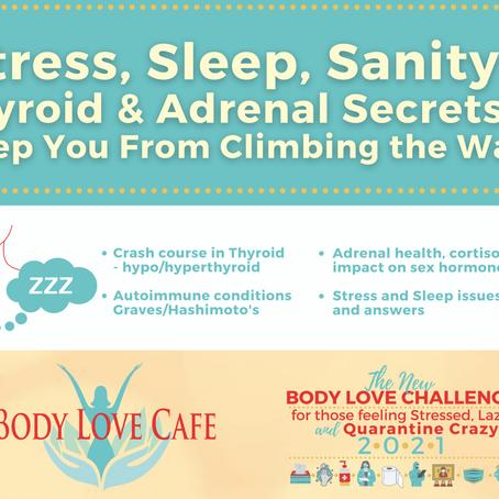 VIDEO-Body Love Challenge Week 3: Stress, sleep, sanity