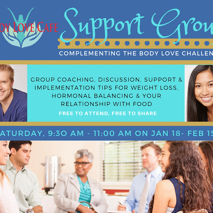 Body Love Challenge Support Group #1