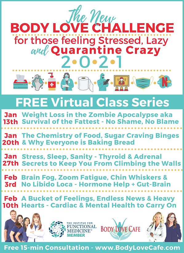 Class List - The New Body Love Challenge