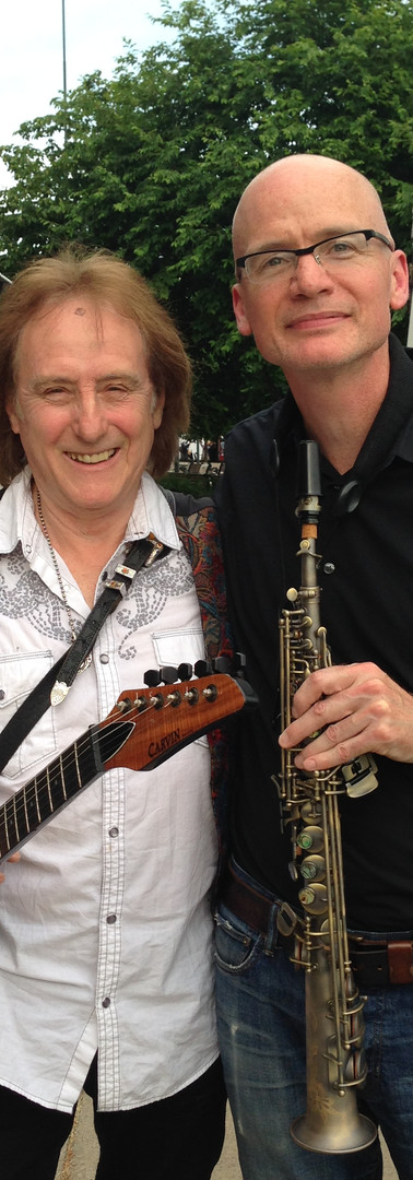 w/ Denny Laine: Paul McCartney and Wings, Moody Blues