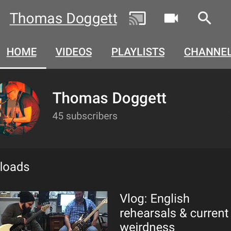 Follow the correct YouTube channel.