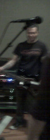 rehearsal w/ Jason Christopher