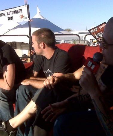 JBKB on-air interview