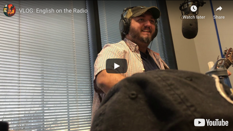 VLOG: English on the Radio