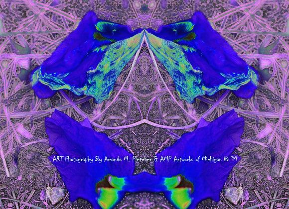 """AMP Artworks of Michigan Original """"Funky Bright"""" Design TANK OR TEE"""