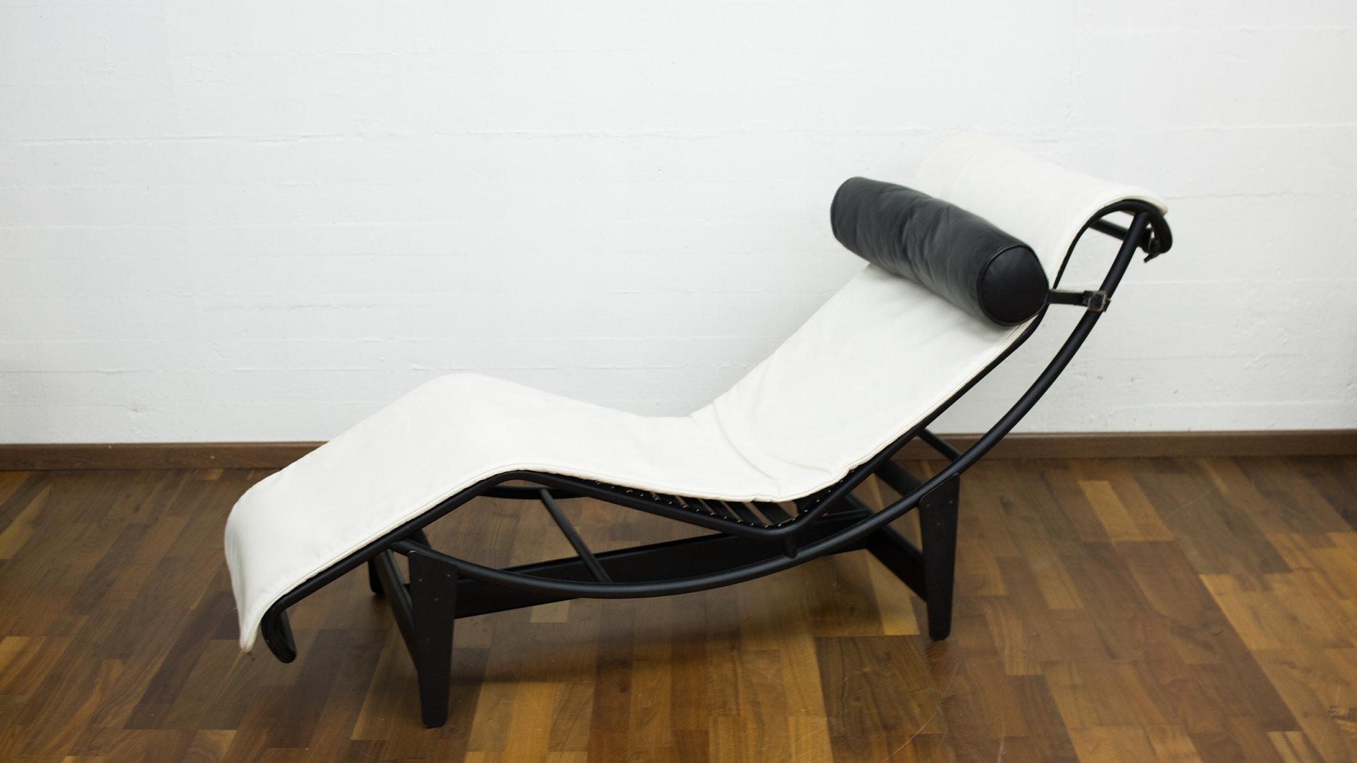 Chaise Le Cassina Corbusier Von Lc4 Longue gvYbf7I6y