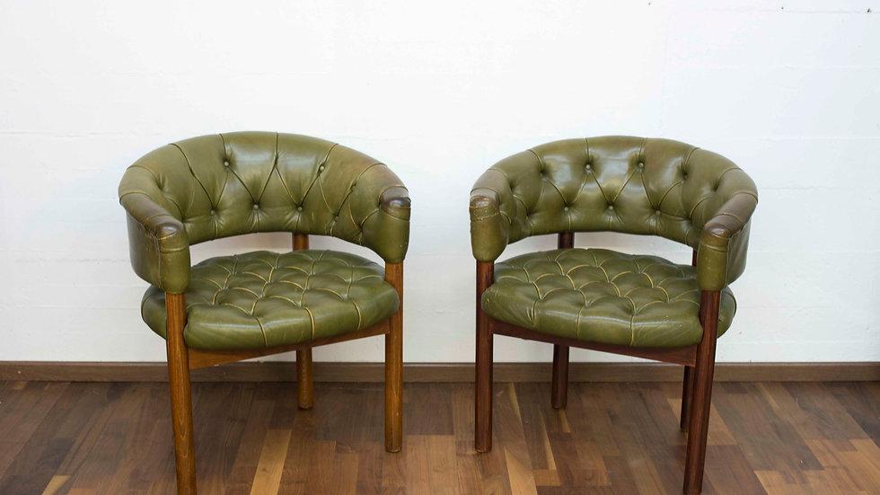 2er Set Robert & Trix Haussmann Lobby Sessel