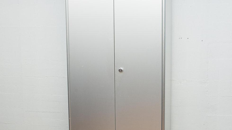 Lehni Kleiderschrank von Andreas Christen in Aluminium eloxiert