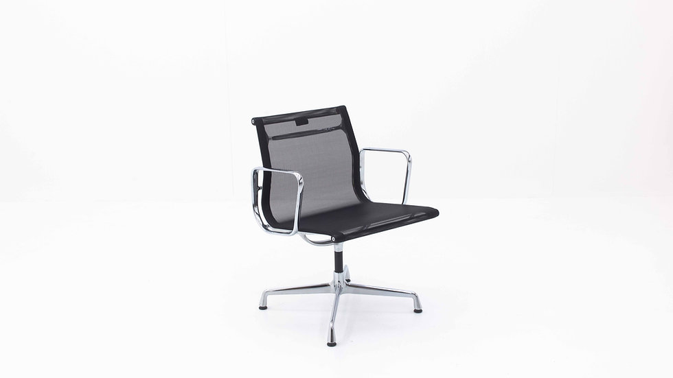 Eames EA 107 Aluminium Stuhl von Vitra