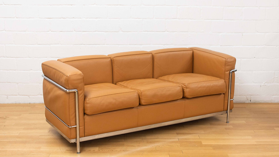 Le Corbusier LC2 Sofa 3er von Cassina