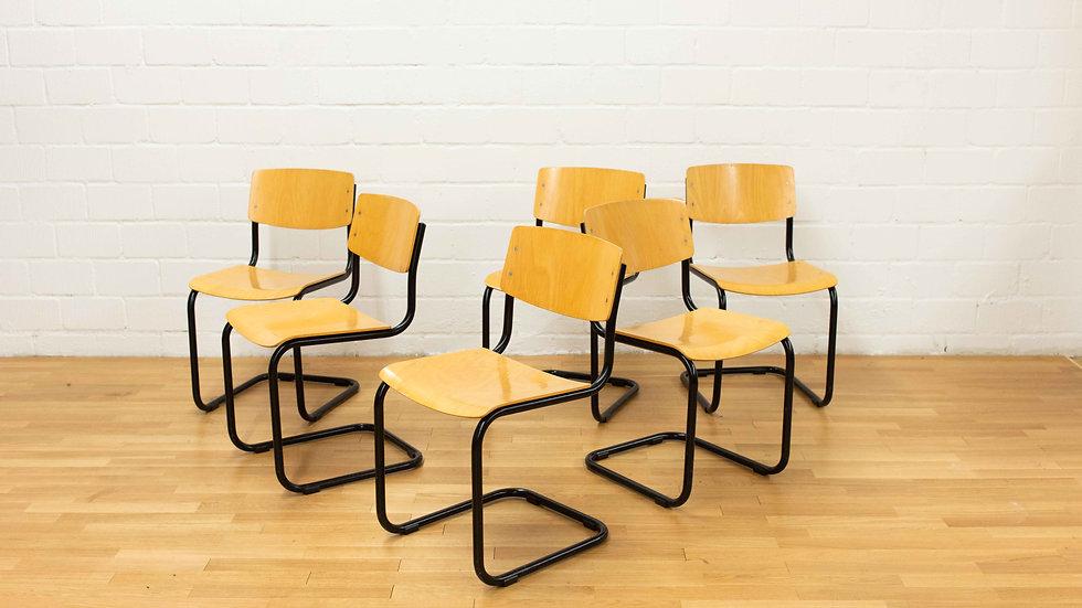 Thonet S43 Stühle von Mart Stam