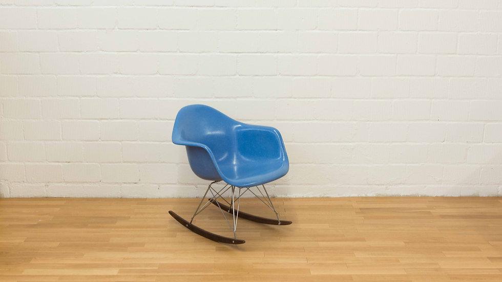 Eames RAR Rocking Armchair aus Fiberglas von Vitra / Herman Miller