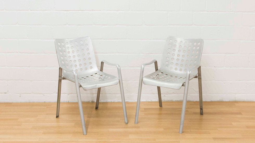 Hans Coray Landi Stühle von 1939 - Metallwarenfabrik Wädenswil