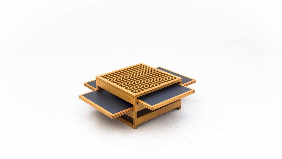 Tetra Tisch von Bernard Vuarnesson für Sculptures-Jeux