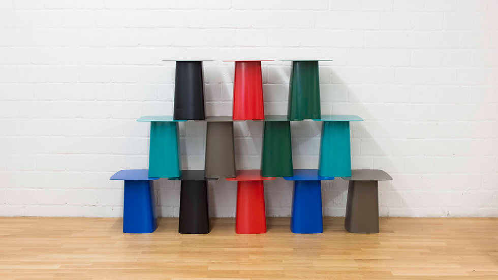 Ronan Erwan Bouroullec Metal Side Table von Vitra