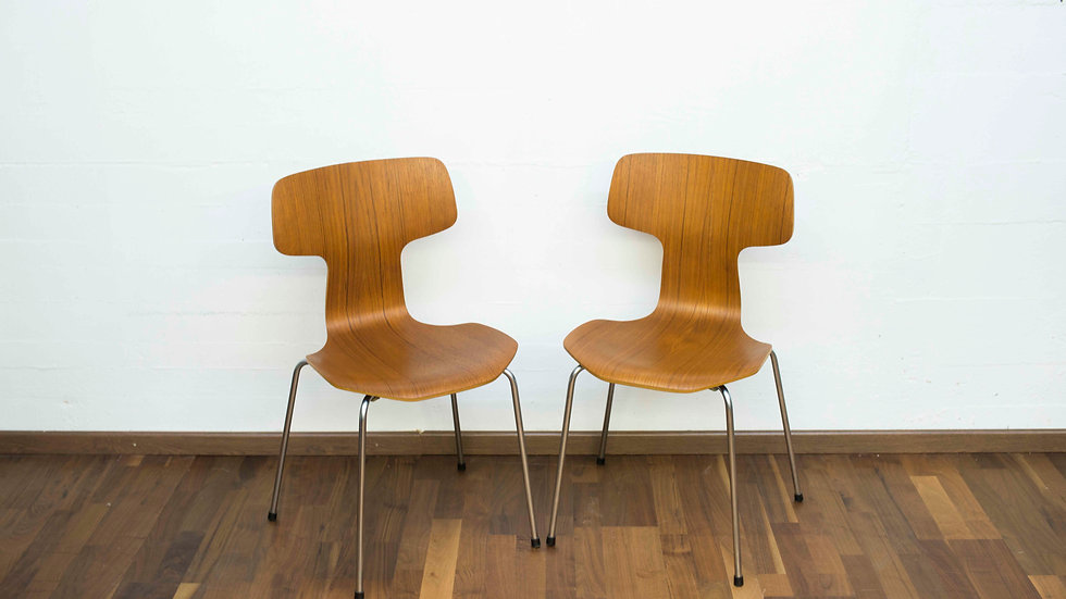 Hammer Stühle von Arne Jacobsen für Fritz Hansen