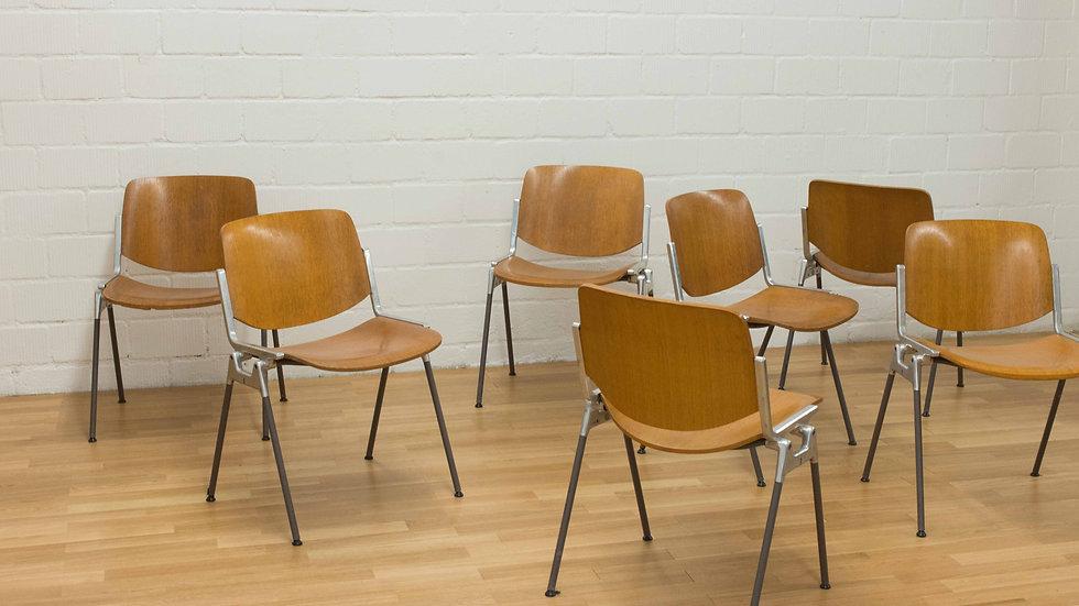 Giancarlo Piretti DSC Axis 106 Stühle von Castelli