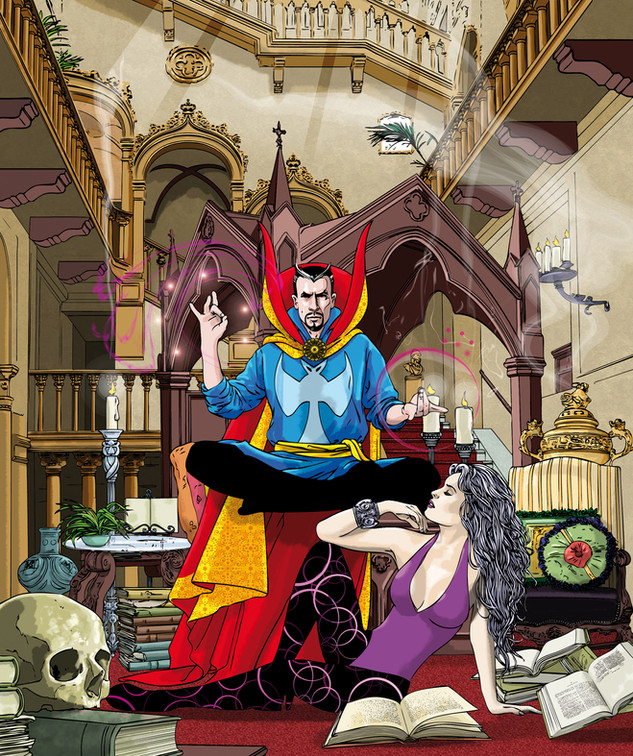 16. Doctor Strange (porfolio samples).jp