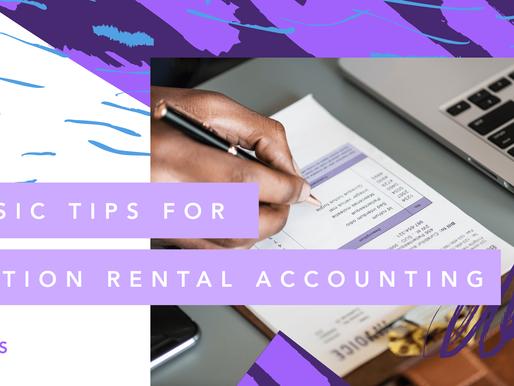 Vacation Rental Accounting: The Basics