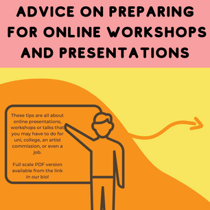 Advice for Online Presentations