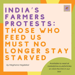 India's Farmer Protests - Meghana Hegdekar