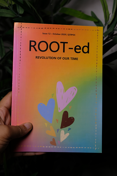 ROOT-ed Zine x Homotopia Issue 12 July 2020 - Physical Copy